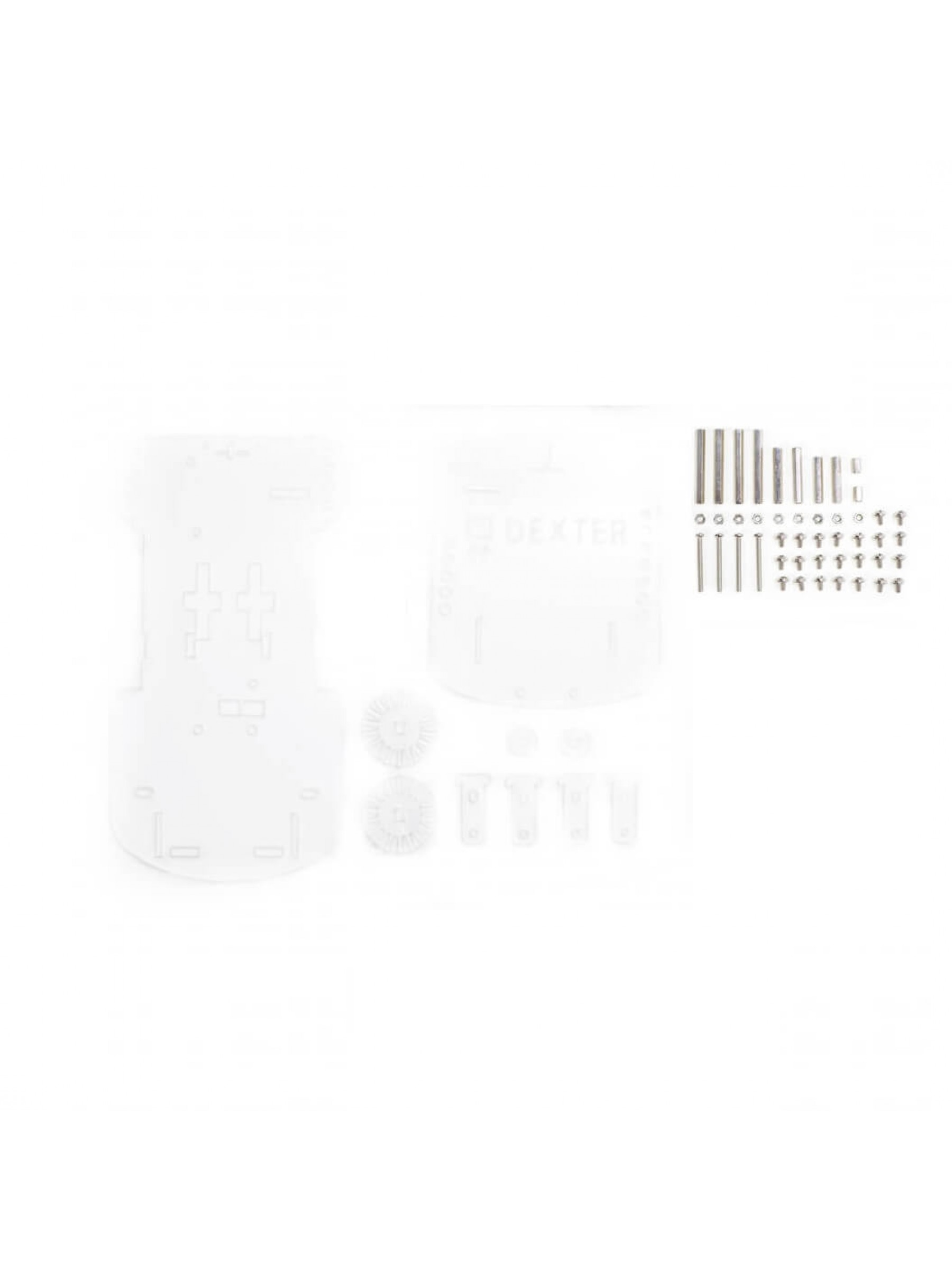 GoPiGo2 Acrylic Body – Clear