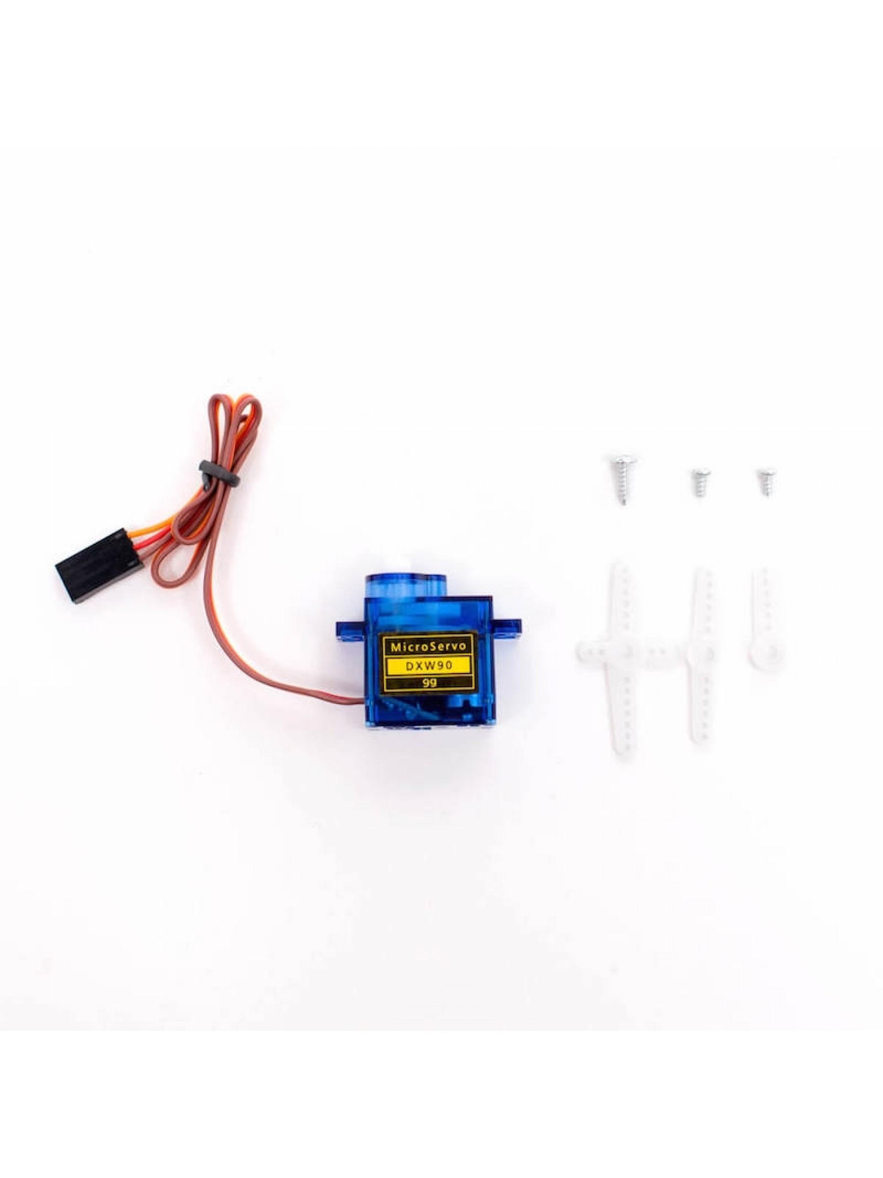 Servo Motor for Raspberry Pi - Set of 4 Small