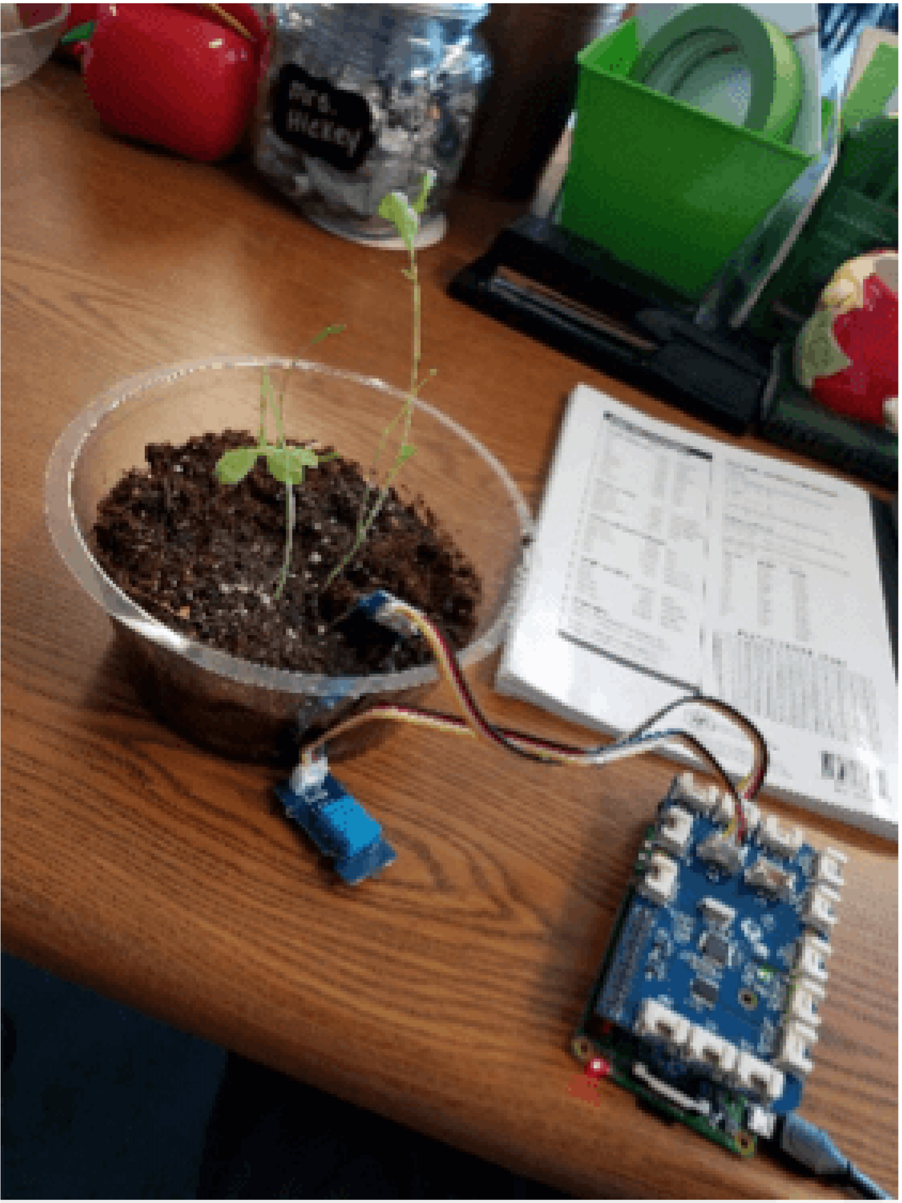 Plant Monitoring Station Robot Unit