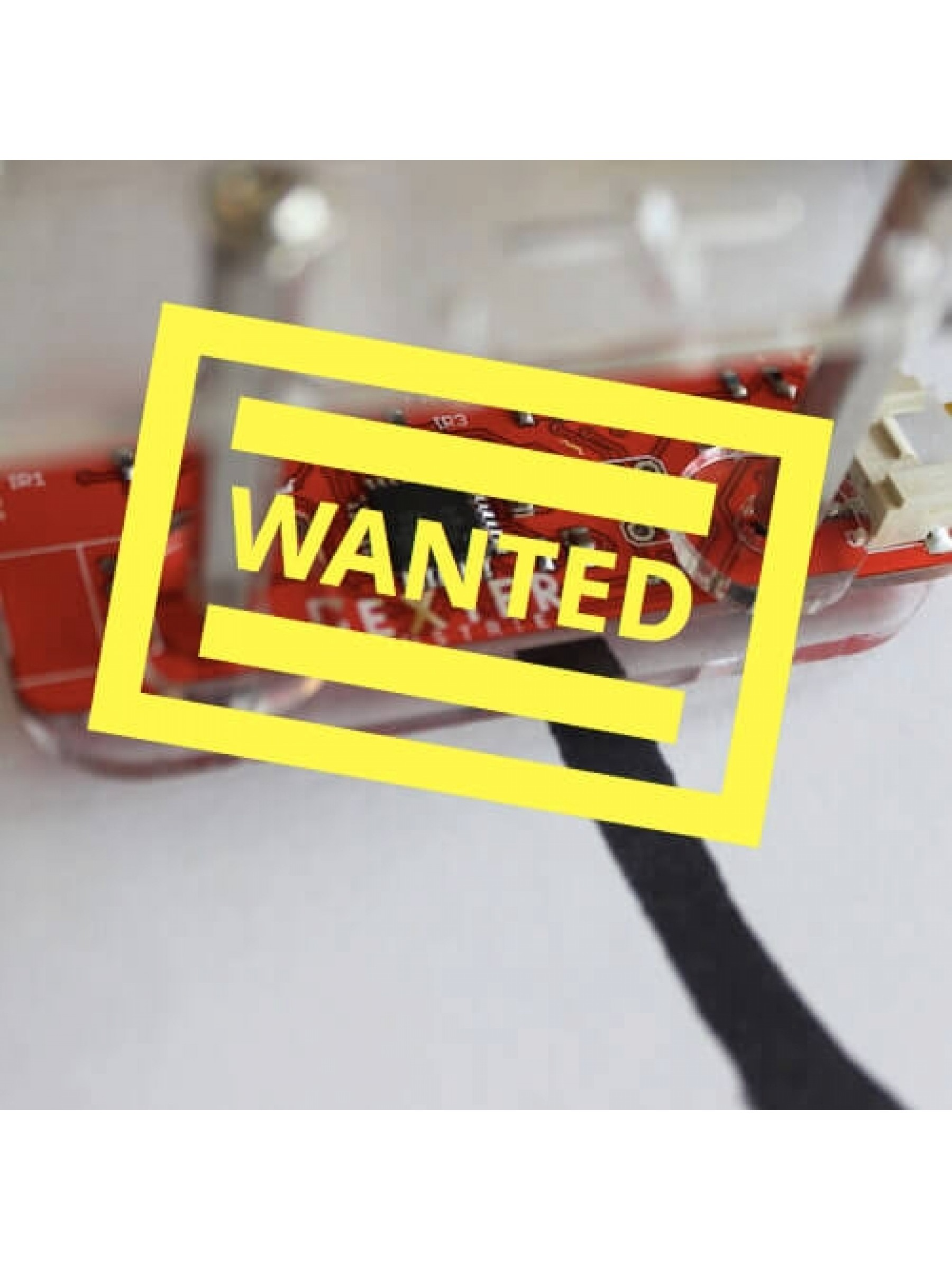 Wanted: Line Following Robot Hardware Kit
