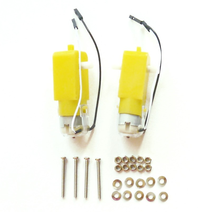 GoPiGo2 Motor Replacement Kit - Set of 2
