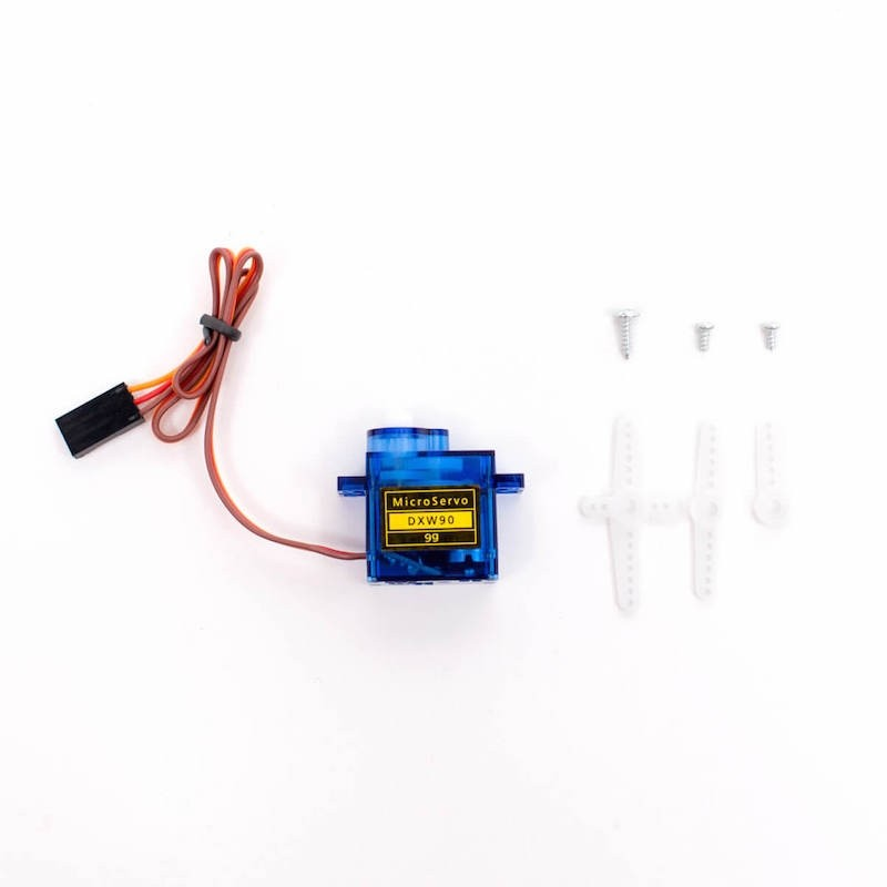 Servo Motor for Raspberry Pi - Set of 4 Small