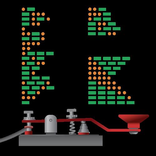 Morse Code Robot Hardware Kit (GrovePi)