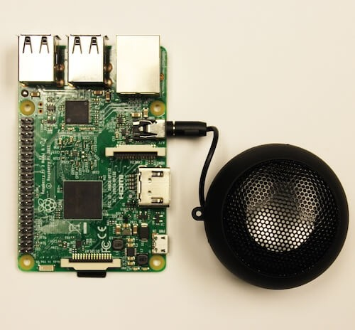 Speaker for Raspberry Pi